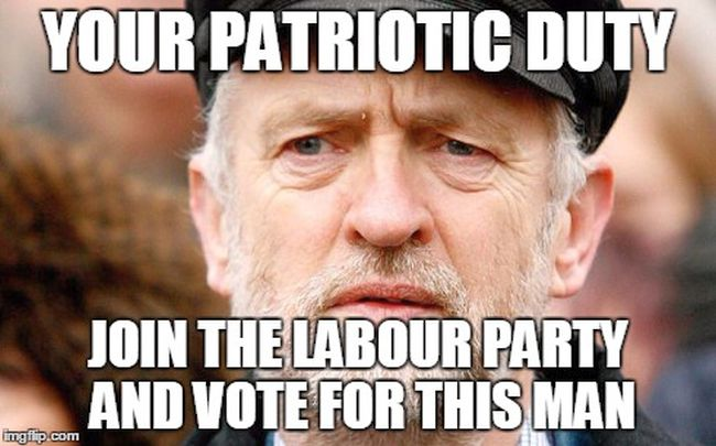 Vote Corbyn for the sake of Great Britain