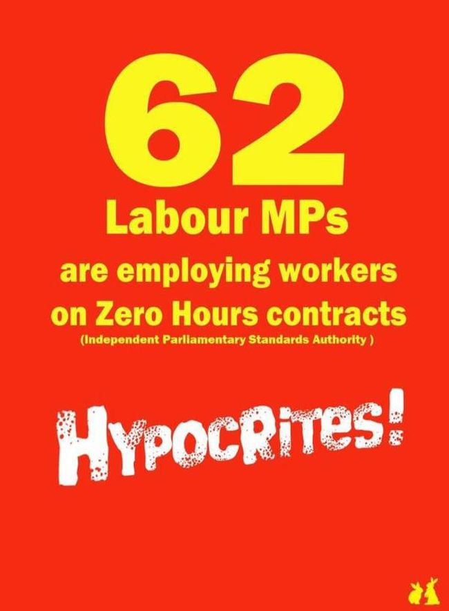 Labour MPs zero hours 650