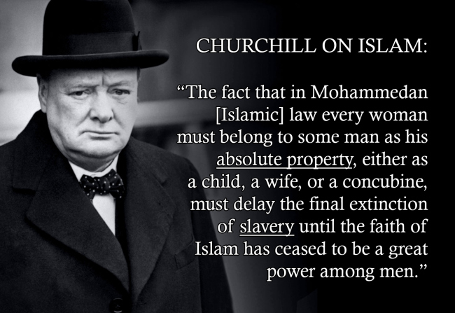Islam Churchill #1 650