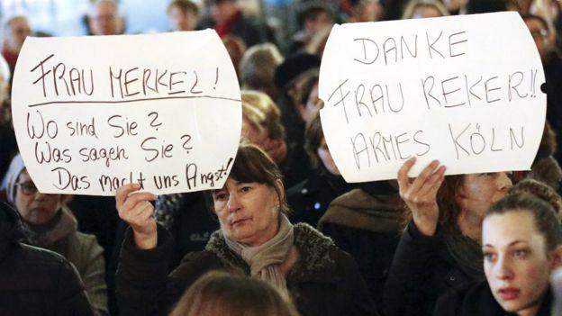 Cologne Merkel
