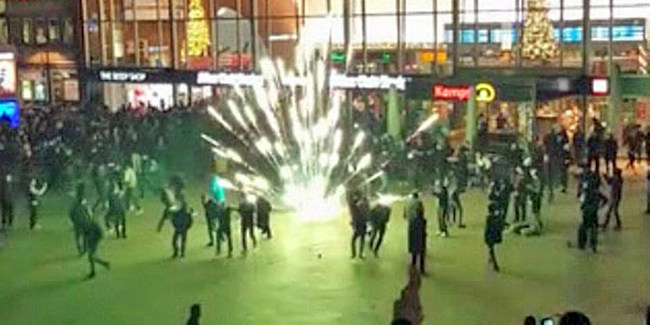 Muslims riot in Cologne
