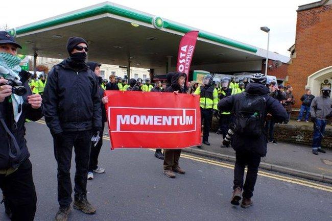 Corbyn thugs 650 momentum