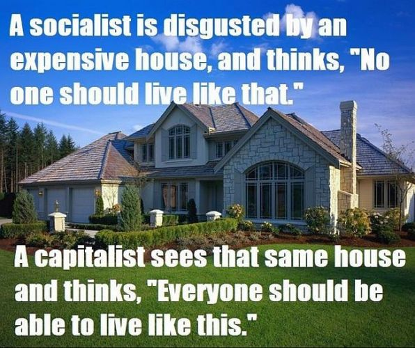 Capitalism is morally superior to Socialism