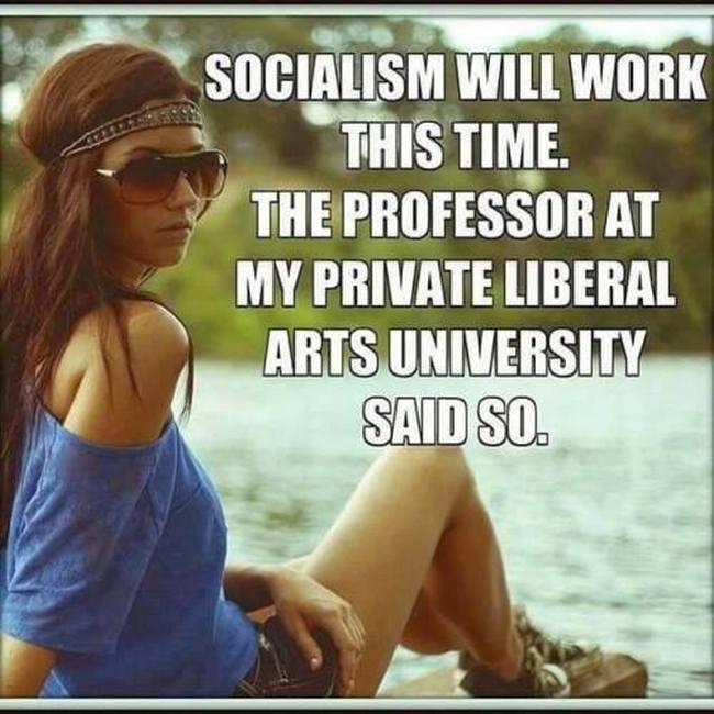 Socialism liberal arts 650