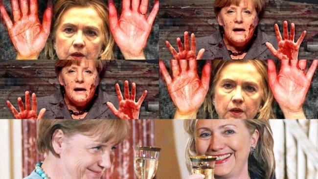 Merkel Clinton 650