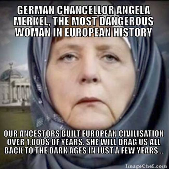 Merkel dangerous 650