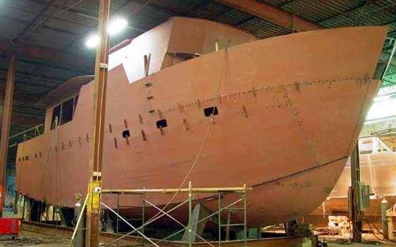 Steel Trawler Construction Steel Boat Plans Boat Building Boatbuilding Steel Boat Kits