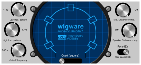 WigWare Ambisonic Decoder Screenshot