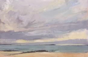 Reeve's Beach 2. Image size 36 x 26cm framed 59 x 49cm