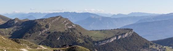 Aussicht von der Bergstation...