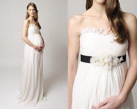 brudekjole gravid