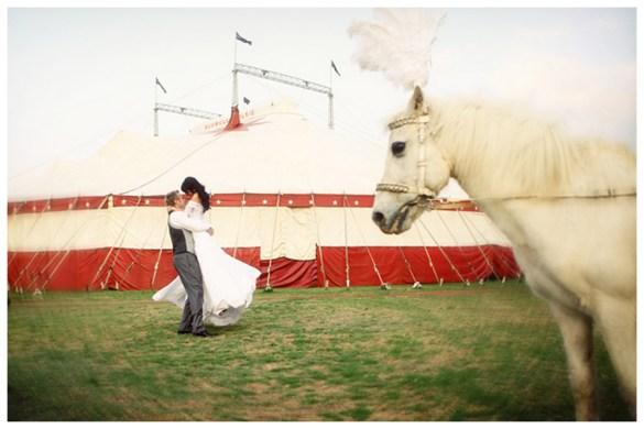 sirkus bryllup