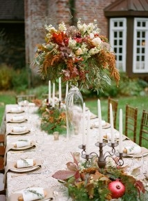 | Archetype Studio | Autumn Woodland Wedding at a Country Manor