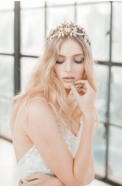JANNIE-BALTZER - FRANKIE - BRIDAL HEADPIECE