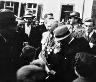 1949 Nach dem Vogelschuss: König Heinrich Bertrams