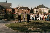 1988 Johannes Heinen vor dem entscheidenden Schuss