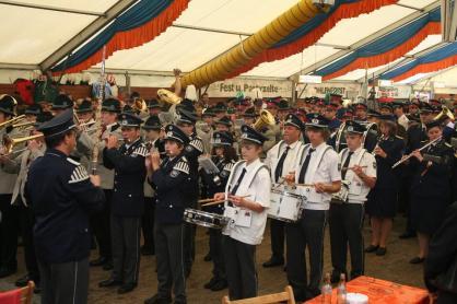 2007 Gemeinsames Abschlusskonzert im Zelt
