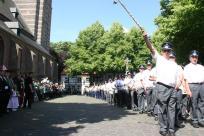 2009 Königsparade durch das Trommlerkorps Katzem und Musikverein Klinkum