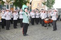 2013 Nach der Parade am Pfingstsonntag: Der Große Zapfenstreich