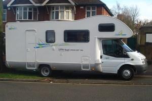The Famous Camper Van.