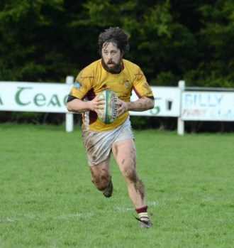 Dave Horan in action