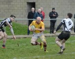 Mark Cosgrove try scorer V Thomond