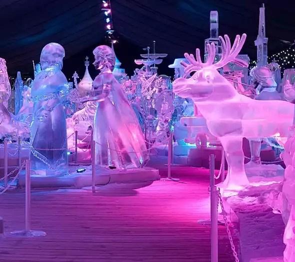bruges, ice festival
