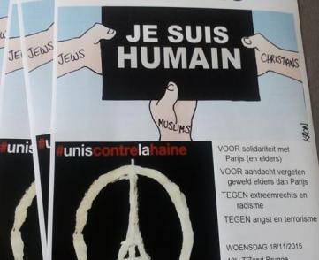 Optocht voor menselijkheid, solidariteit en verdraagzaamheid