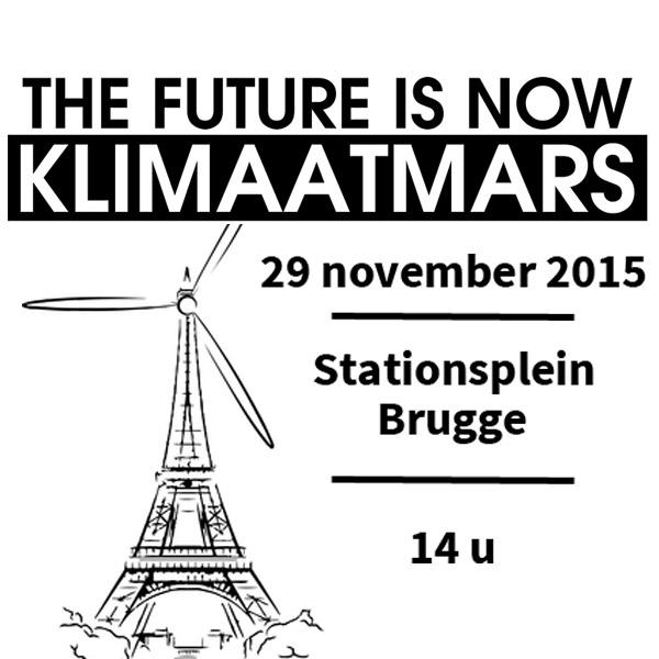 Klimaatmars Brugge gaat zondag door!