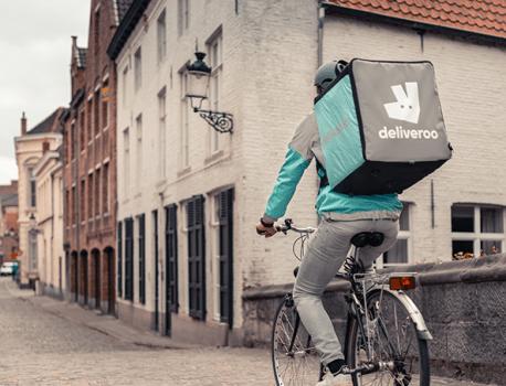 Deliveroo? Voor de fietskoerier nie goe!