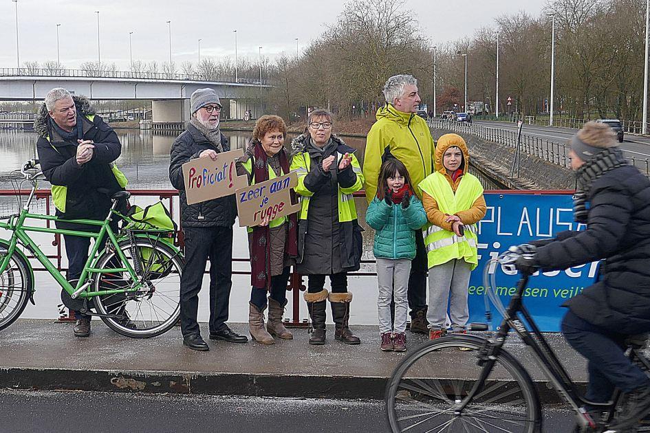 Applaus voor wie met de fiets naar Brugge komt