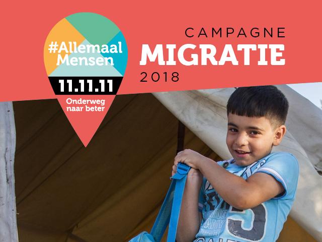 #AllemaalMensen: campagne migratie 2018