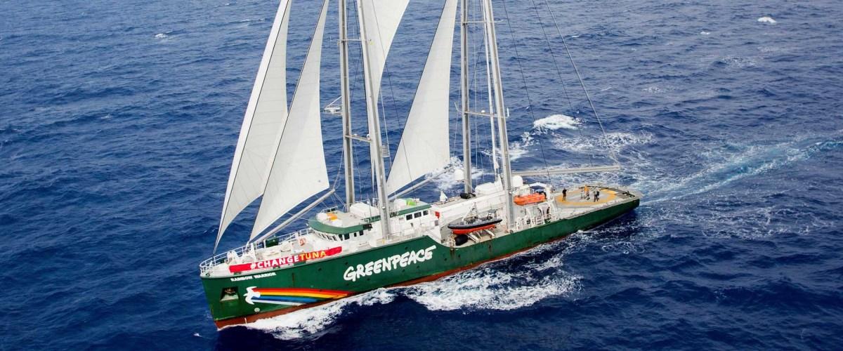 Vlaggenschip Greenpeace komt naar Oostende
