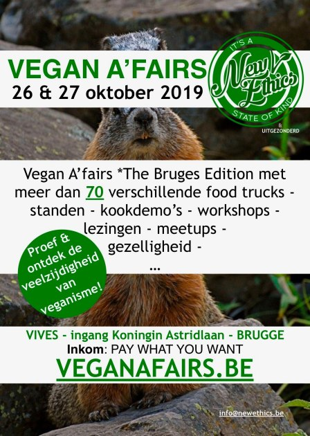 Vegan A'fairs *The Bruges Edition