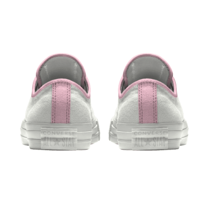 Bruid Converse Mono White Soft Pink bruidssneakers.nl
