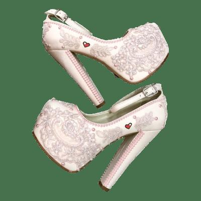 Dione-Bruidspumps-Nude-Pink
