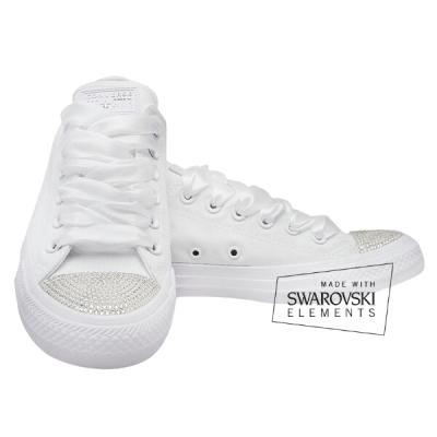 swarovski converse bruidssneakers