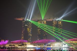 Laser Show Marina Bay Sands