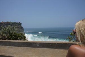 Uitzicht bij Uluwatu tempel