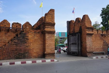 Thapae Gate Chiang Mai