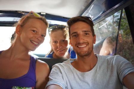 Annika, Greta en Geert-Jan