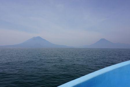 Volcan Toliman and Volcan Atitlan