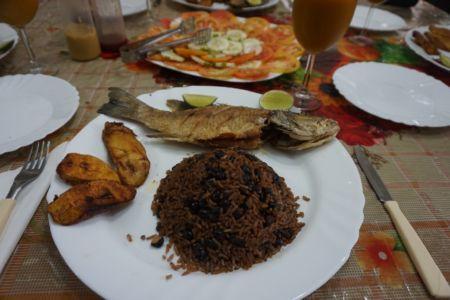 Luxueus Cubaans eten