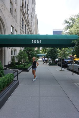 Entrance from an appartment in 5th av.