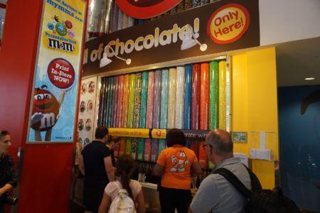 M&M shop bij Times Square