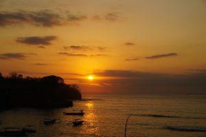 Sunset Mushroom Bay