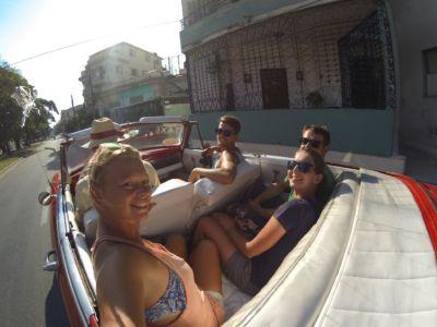 Cruizn in een oldtimer Havana