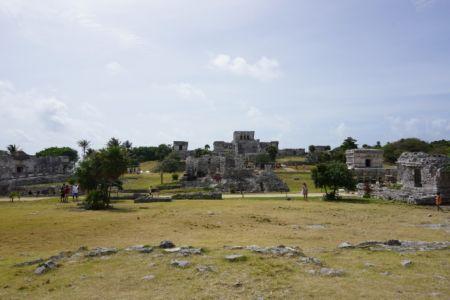 Overview Ruinas Tulum