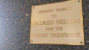 Hoxsey Clinic Plaque
