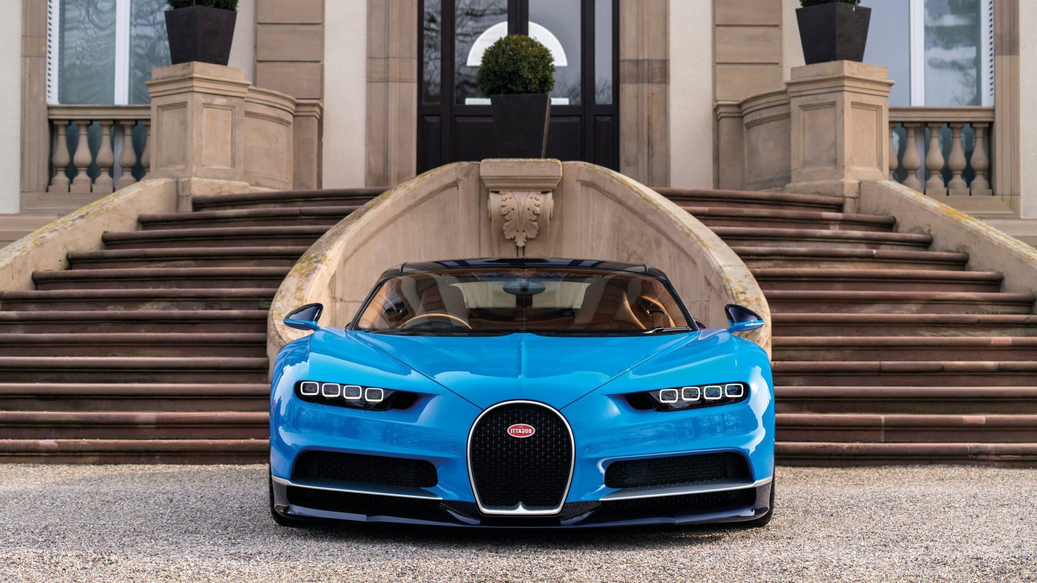 Bugatti Chiron Face lift